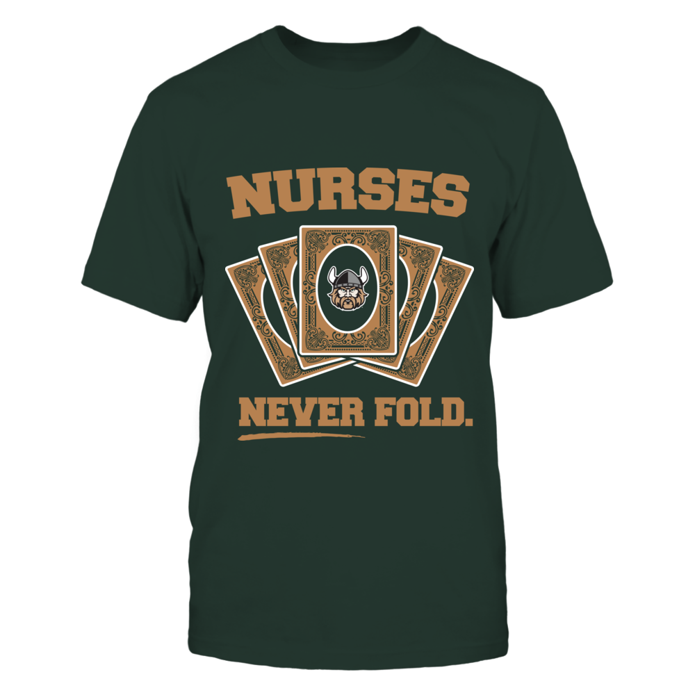 Cleveland State Vikings - Nurses Never Fold Front picture