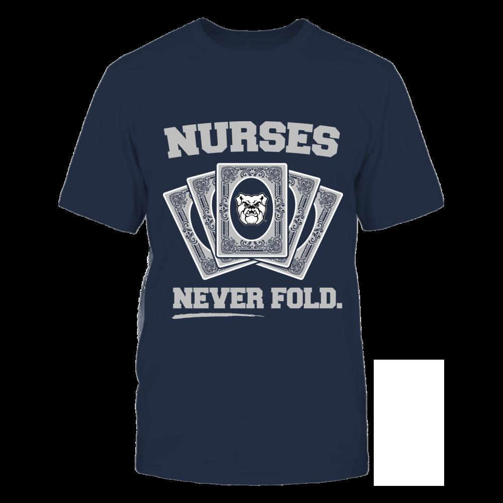 Butler Bulldogs - Nurses Never Fold Front picture