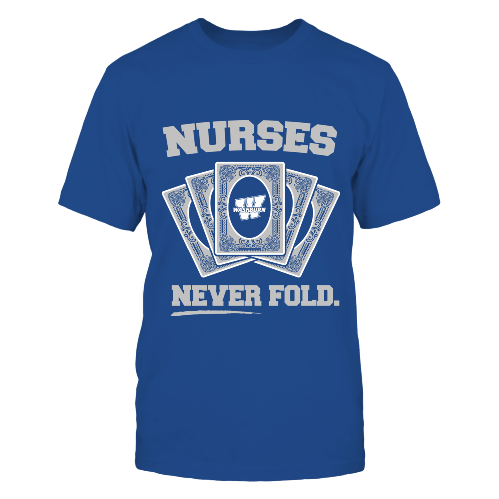 Washburn Ichabods - Nurses Never Fold Front picture