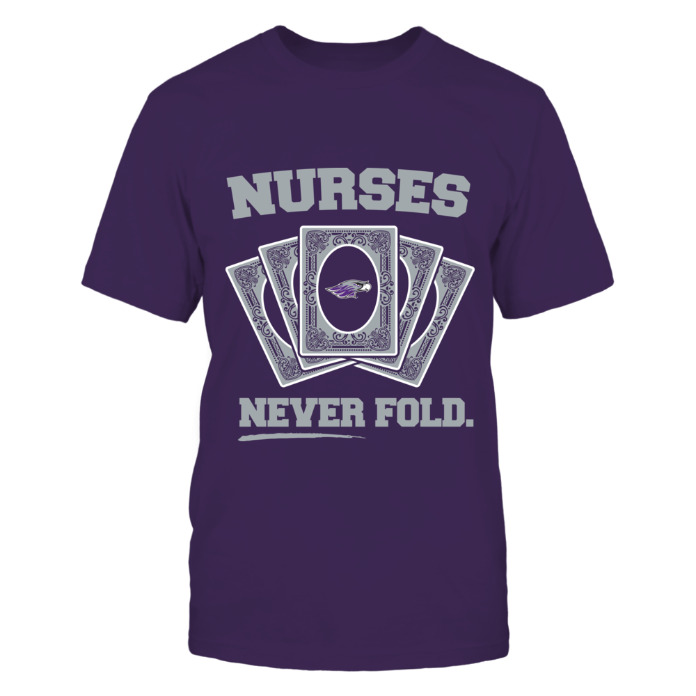 Wisconsin-Whitewater Warhawks - Nurses Never Fold Front picture