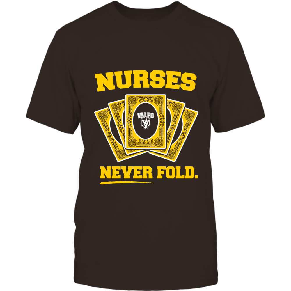 Valparaiso Crusaders - Nurses Never Fold Front picture