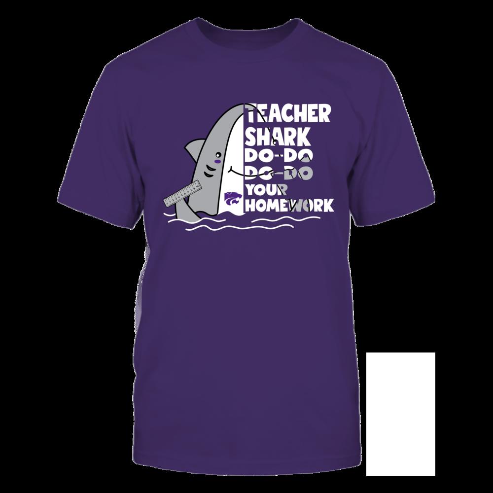 Kansas State Wildcats - Teacher - Half - Teacher Shark Front picture