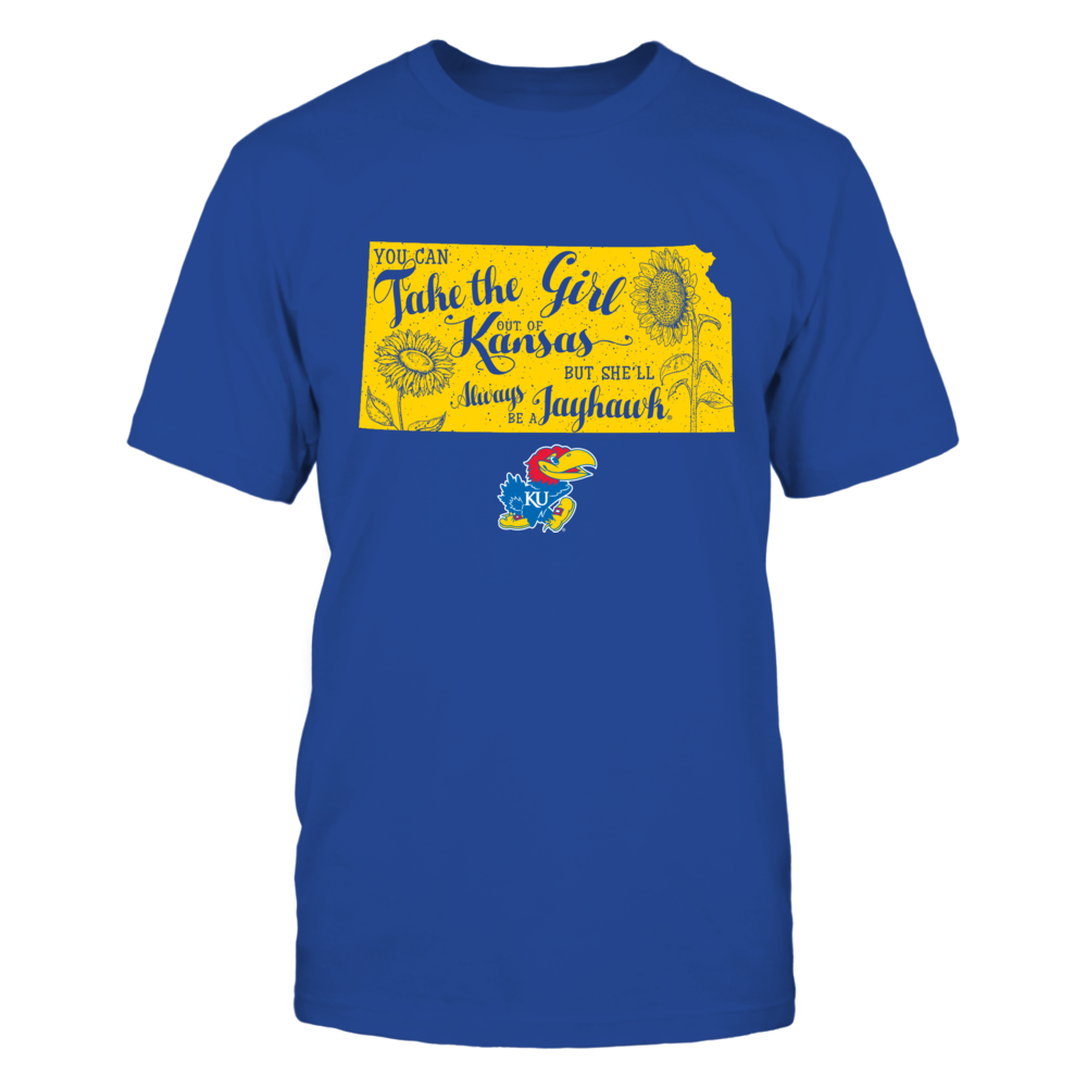 Kansas Jayhawks - Take The Girl Out State Flower Front picture