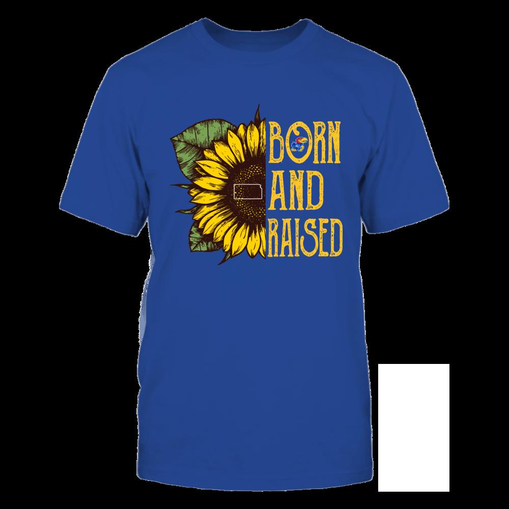 Kansas Jayhawks - Half Sunflower - Born And Raised Front picture