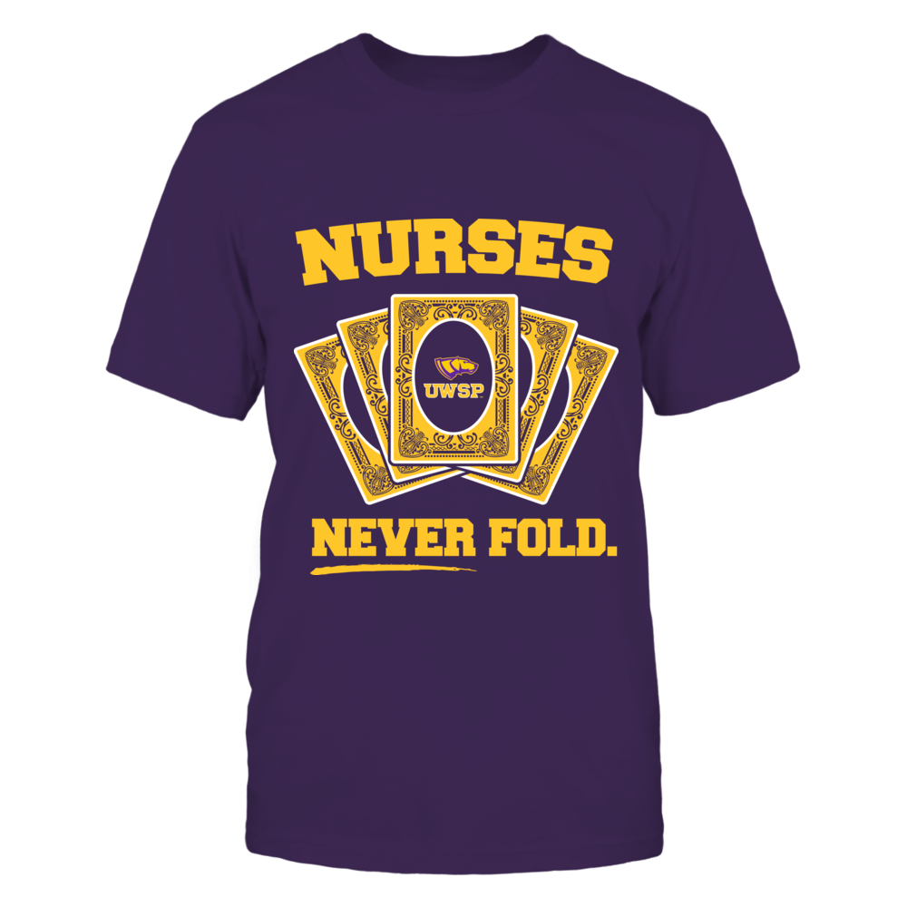 Wisconsin-Stevens Point Pointers - Nurses Never Fold Front picture