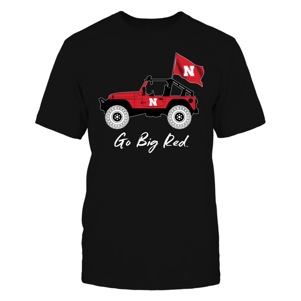 Nebraska Cornhuskers - Jeep - Jeep Car - IF-IC13-DS27 Front picture