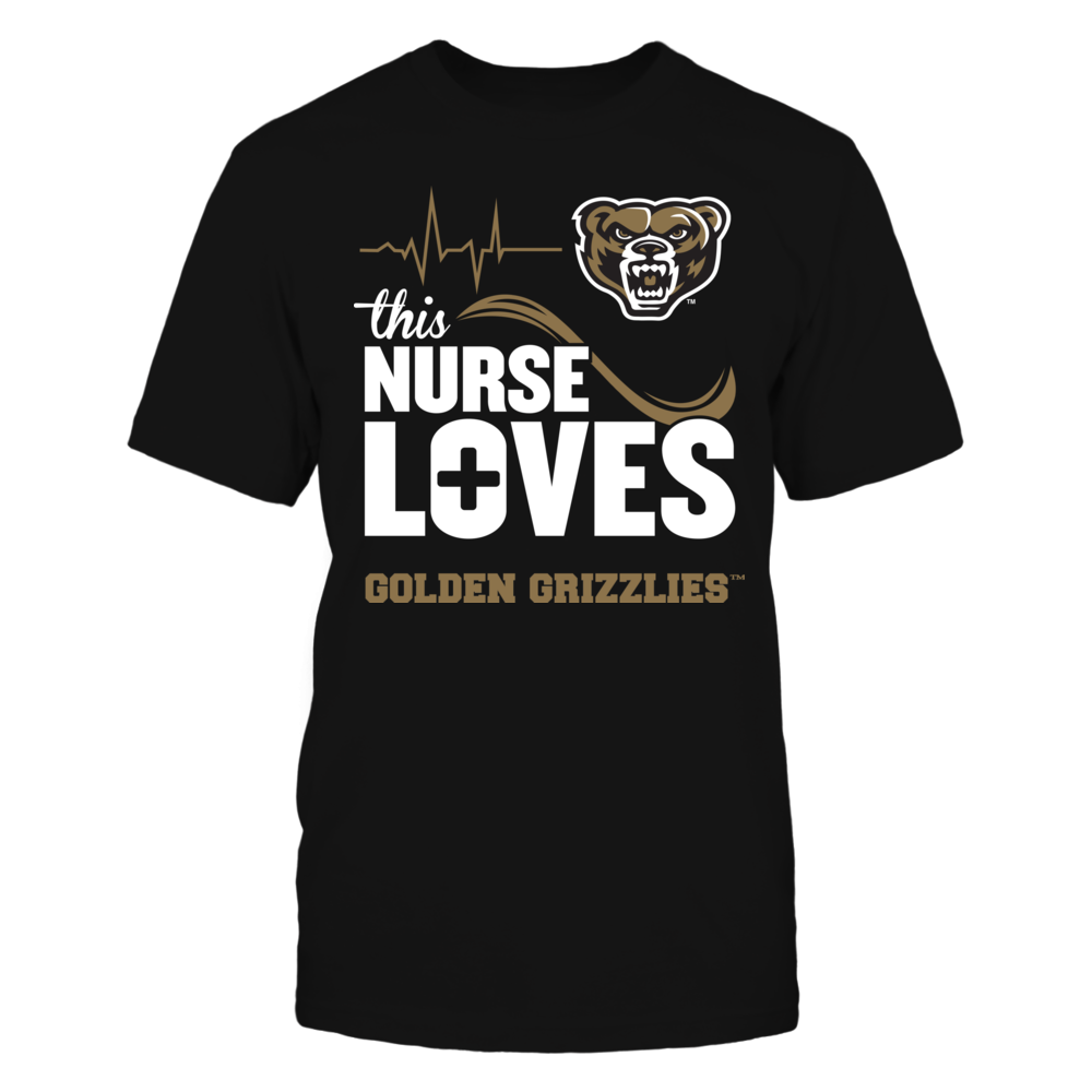 Oakland Golden Grizzlies - This Nurse Loves Front picture