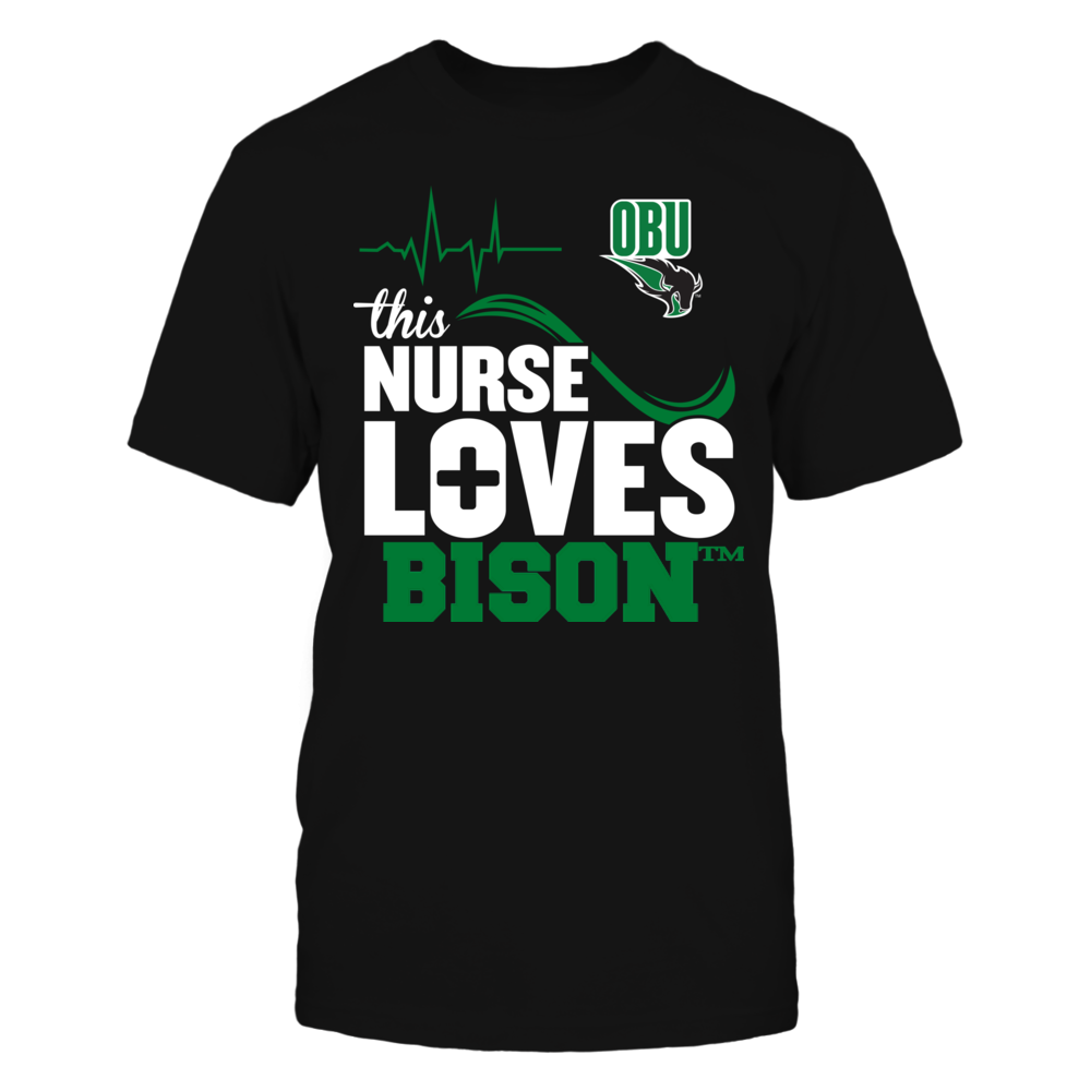 Oklahoma Baptist Bison - This Nurse Loves Front picture
