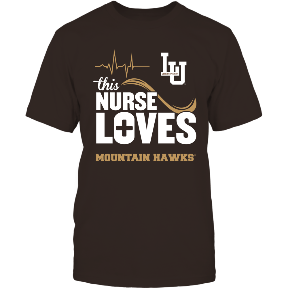 Lehigh Mountain Hawks - This Nurse Loves Front picture