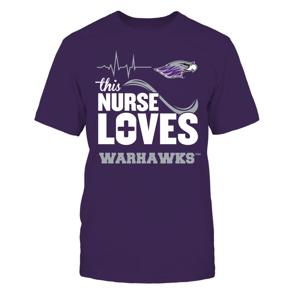 Wisconsin-Whitewater Warhawks - This Nurse Loves Front picture