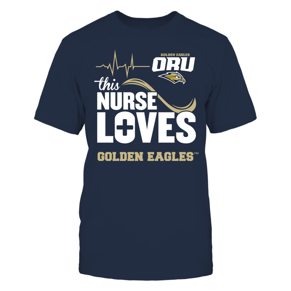Oral Roberts Golden Eagles - This Nurse Loves Front picture