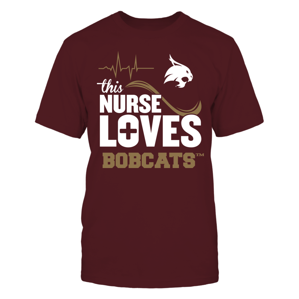 Texas State Bobcats - This Nurse Loves Front picture