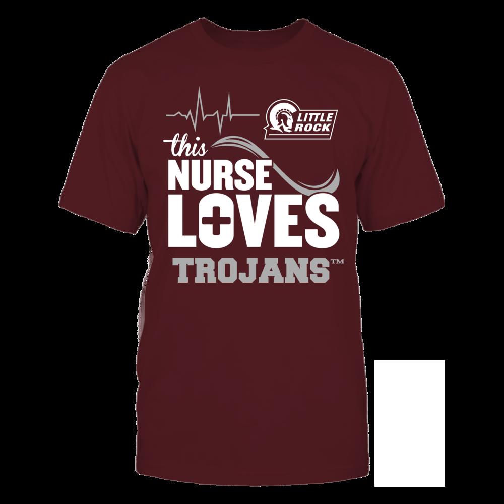 Arkansas Little Rock Trojans - This Nurse Loves Front picture