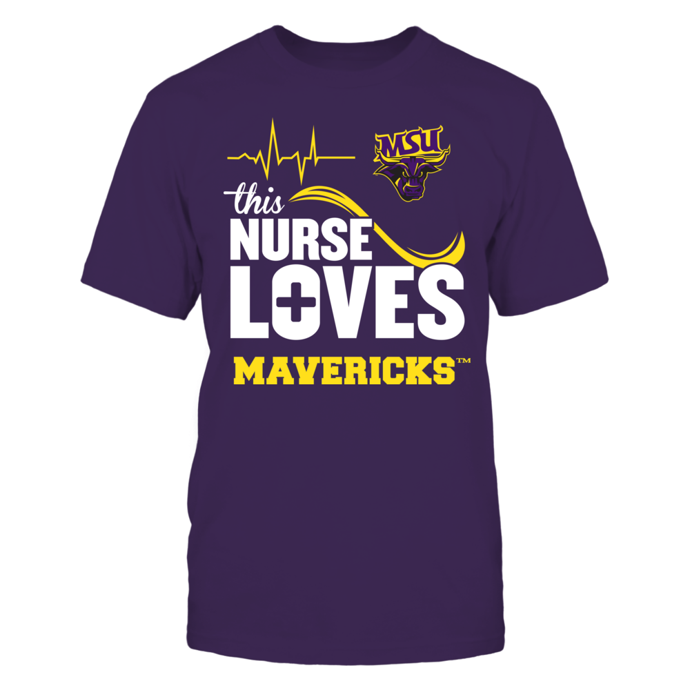 Minnesota State Mavericks - This Nurse Loves Front picture