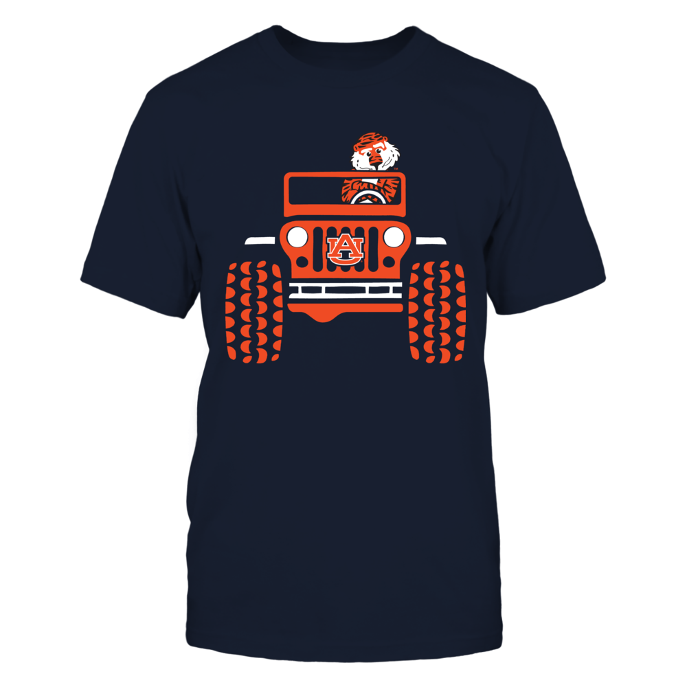 Auburn Tigers - Jeep - Jeep Car And Mascot Front picture