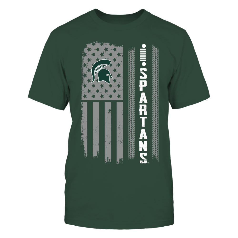 Michigan State Spartans - Jeep - Jeep Nation Flag Front picture