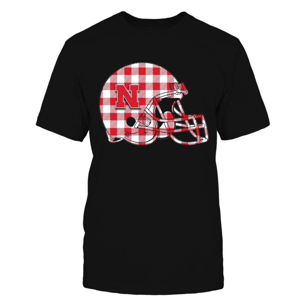 Nebraska Cornhuskers - Checkered Helmet Front picture