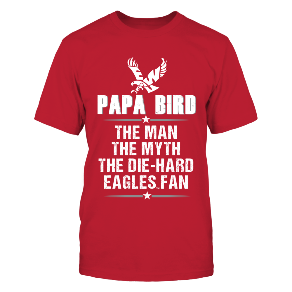Eastern Washington Eagles - Papa Mascot - The Man The Myth Front picture