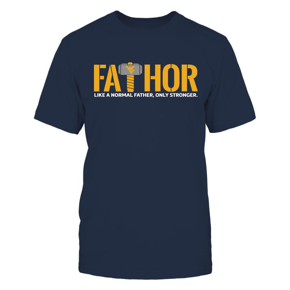 West Virginia Mountaineers - FaThor Front picture