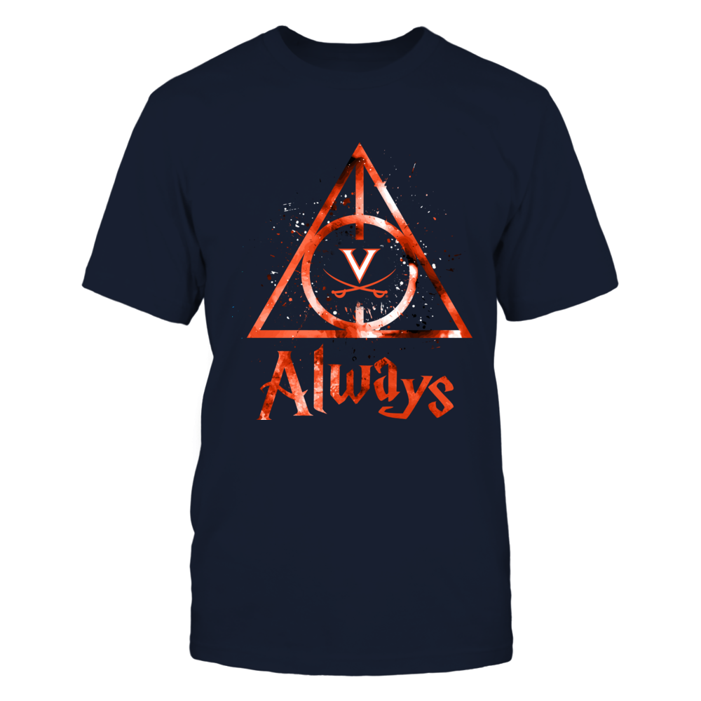 Virignia Cavaliers - Color Drop Deathly Hallows - IF-IC13-DS75 Front picture