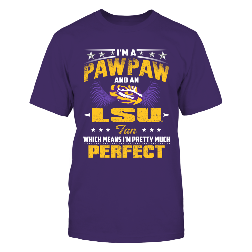 LSU Tigers - Perfect Grandpa And Fan Front picture