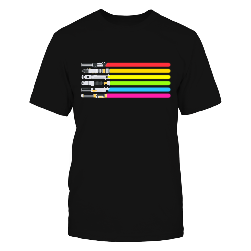 LIMITED EDITION LIGHTSABER STAR WARS LGBT SHIRT Front picture
