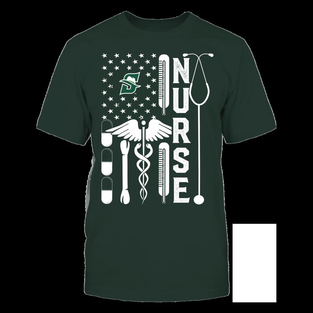Stetson Hatters - Flag Shirt - Nurse Front picture