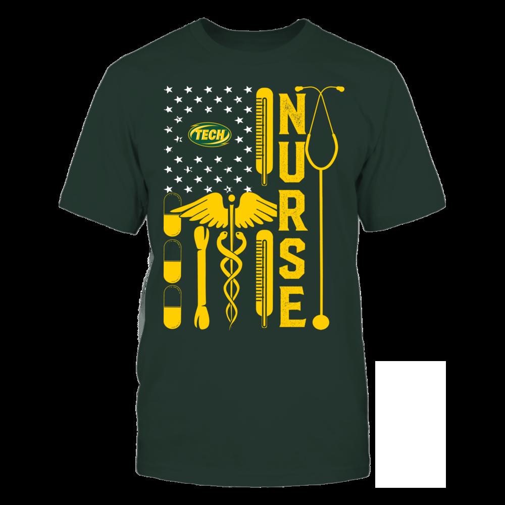 Arkansas Tech Golden Suns - Flag Shirt - Nurse Front picture