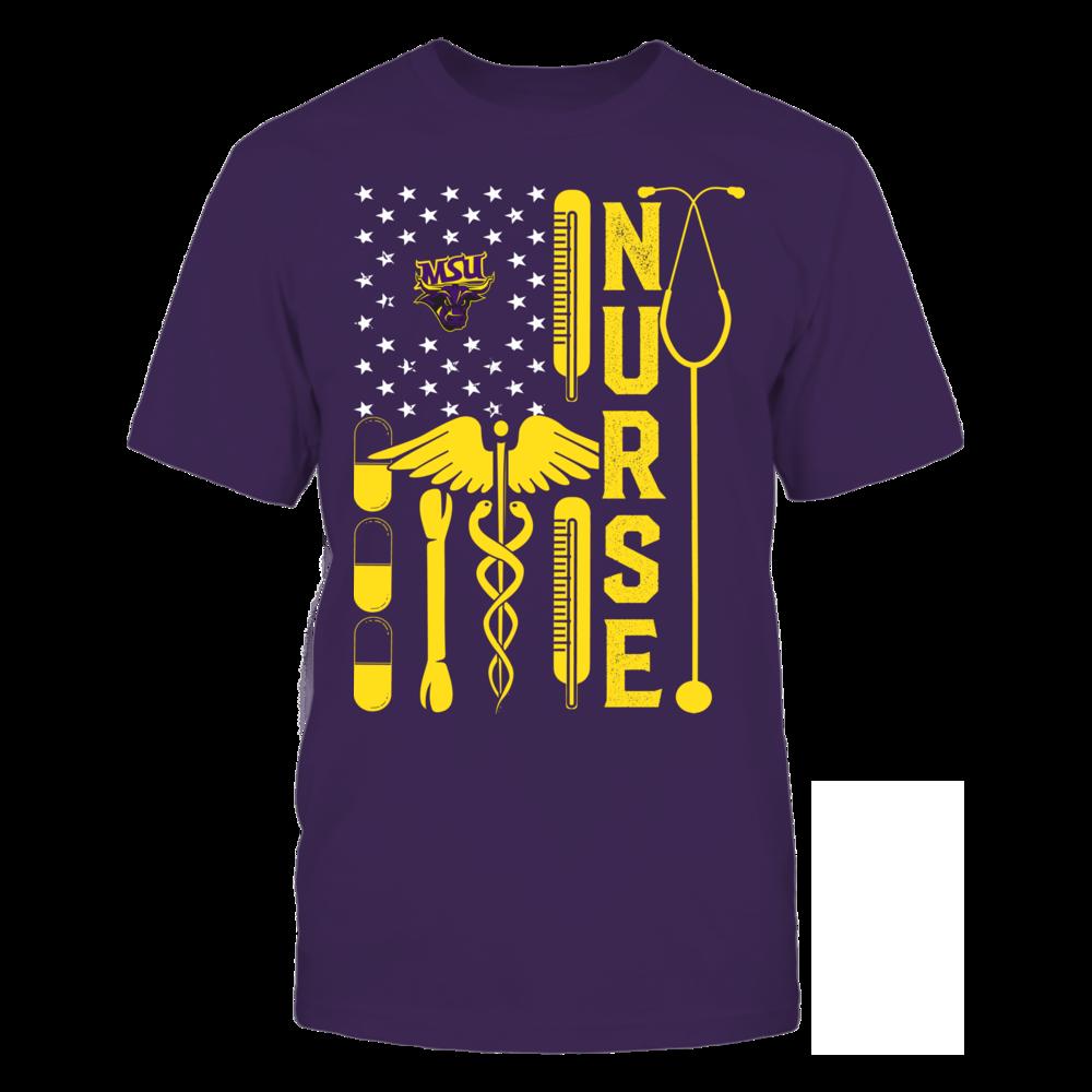 Minnesota State Mavericks - Flag Shirt - Nurse Front picture