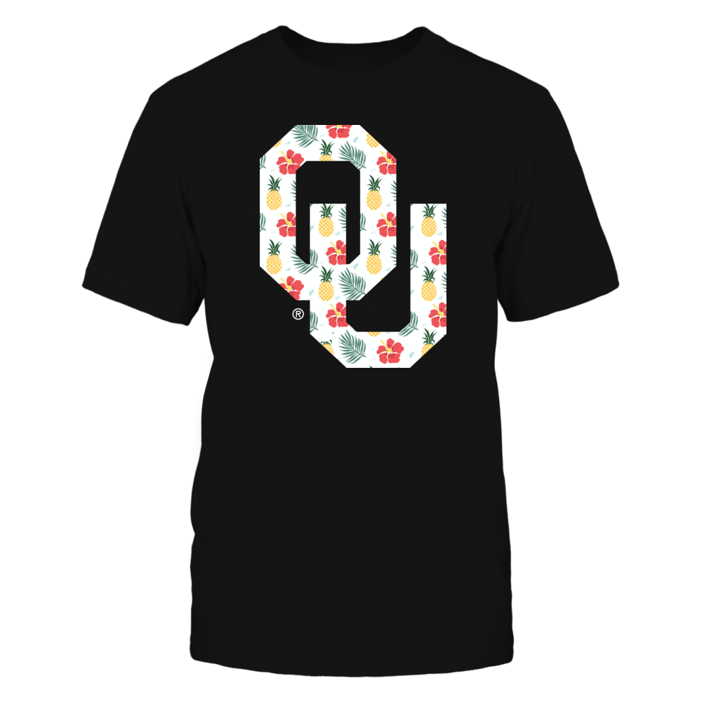 Oklahoma Sooners - Logo Pineapple Pattern Front picture