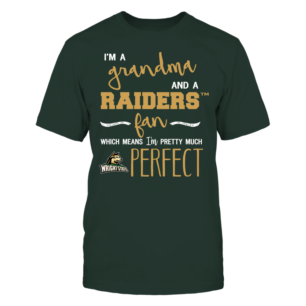 Wright State Raiders - Perfect Grandma Front picture