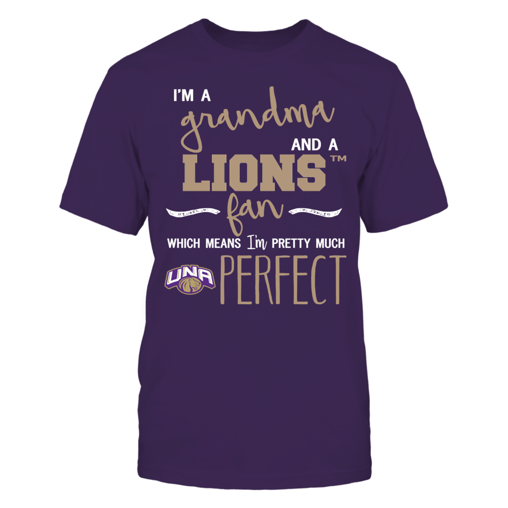 North Alabama Lions - Perfect Grandma Front picture