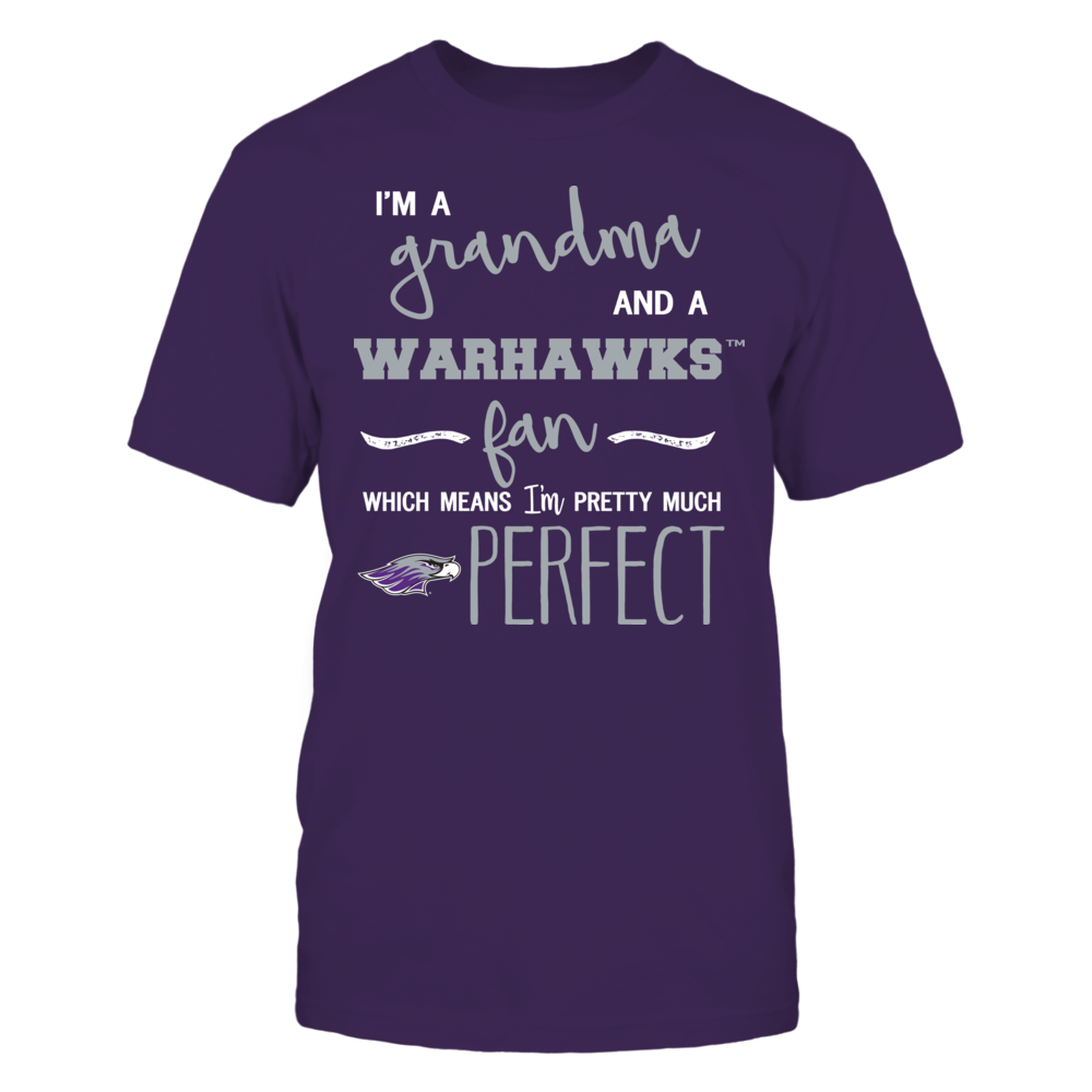 Wisconsin-Whitewater Warhawks - Perfect Grandma Front picture