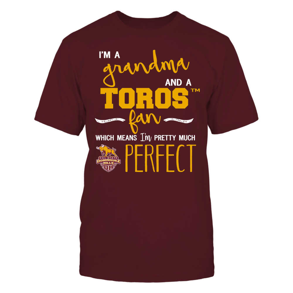 Cal State Dominguez Hills Toros - Perfect Grandma Front picture