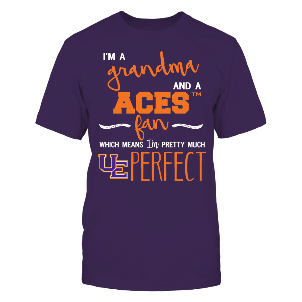 Evansville Purple Aces - Perfect Grandma Front picture