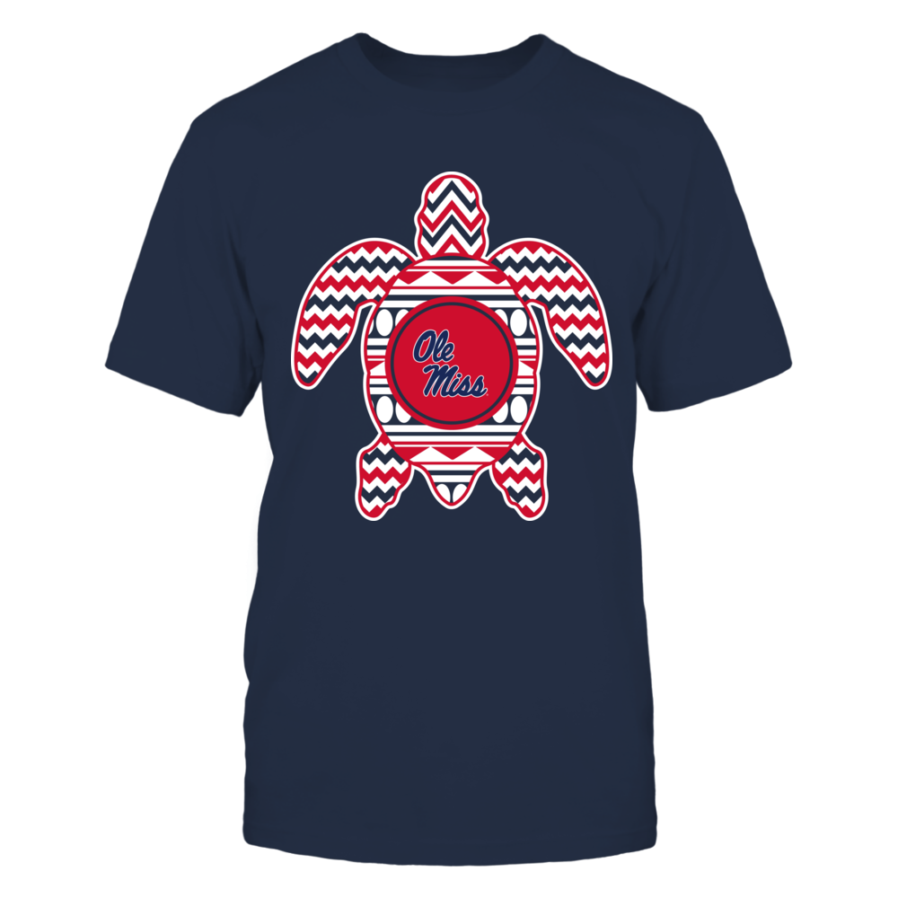 Ole Miss Rebels - Chevron Turtle Front picture