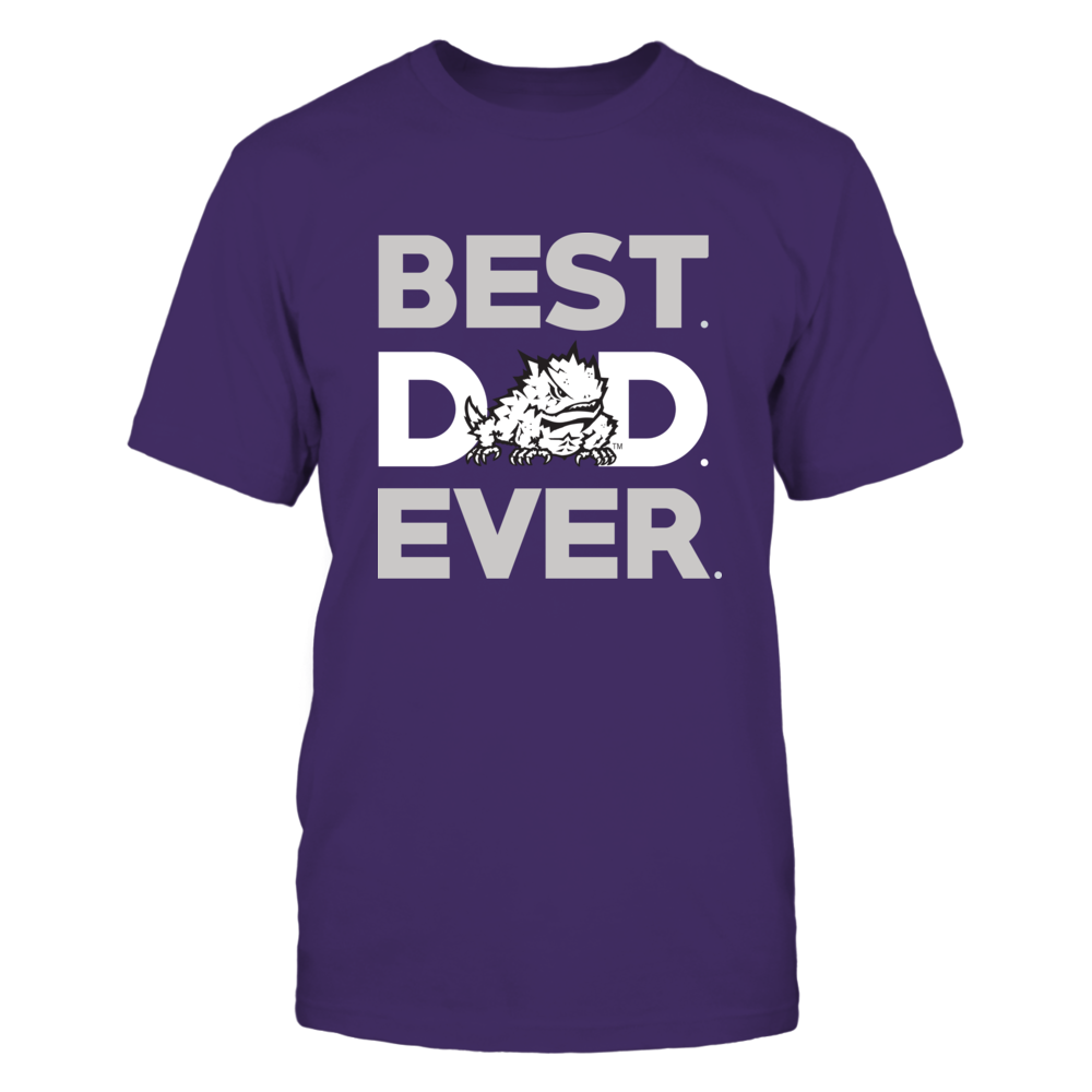 TCU Horned Frogs - Best Dad Ever Front picture