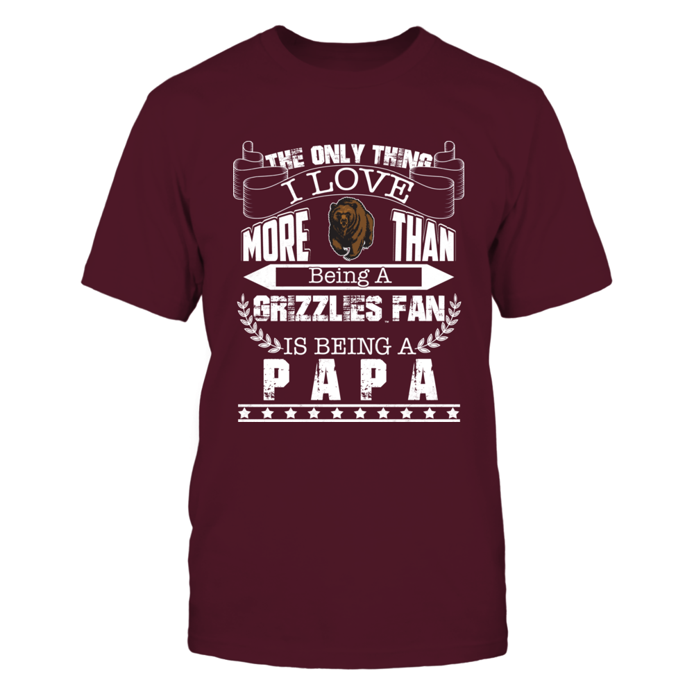 Montana Grizzlies - The Only Thing I Love Front picture