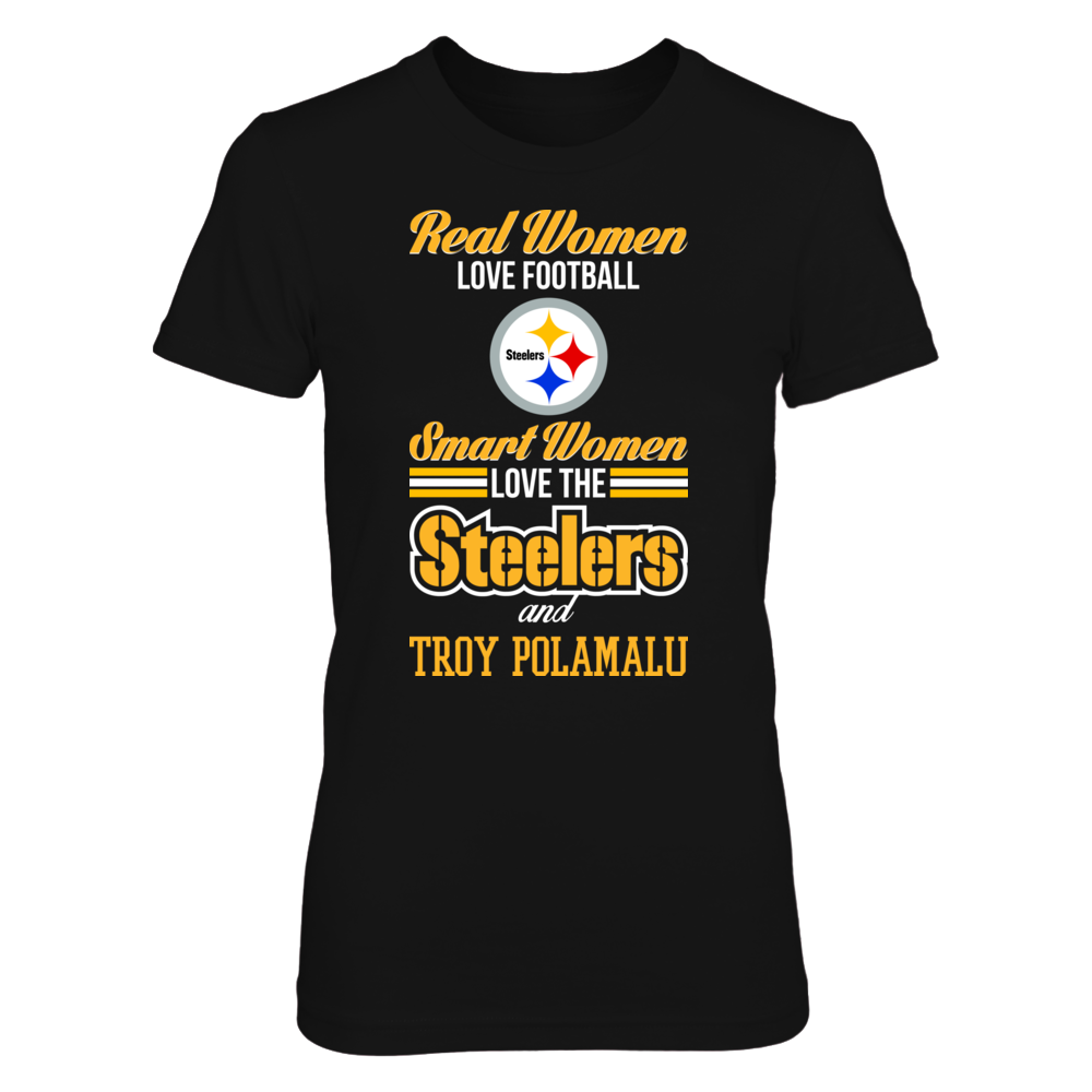 Pittsburgh Steelers - Troy Polamalu - Real Women Smart Women Front picture