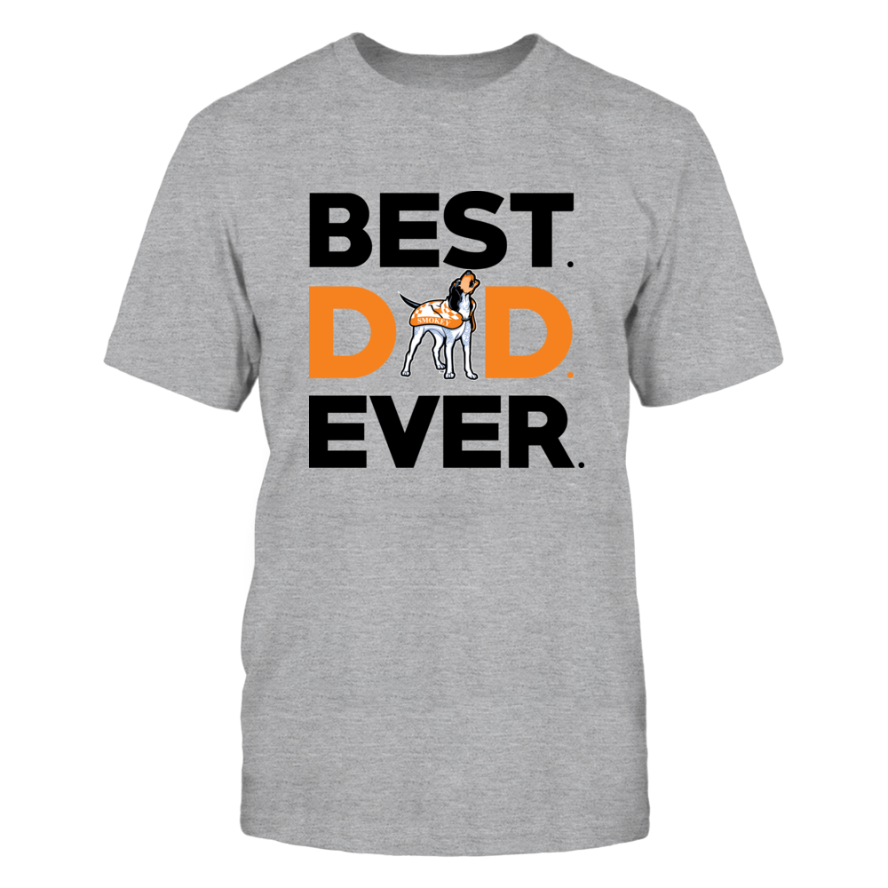 Tennessee Volunteers - Best Dad Ever - Grey Shirt Front picture