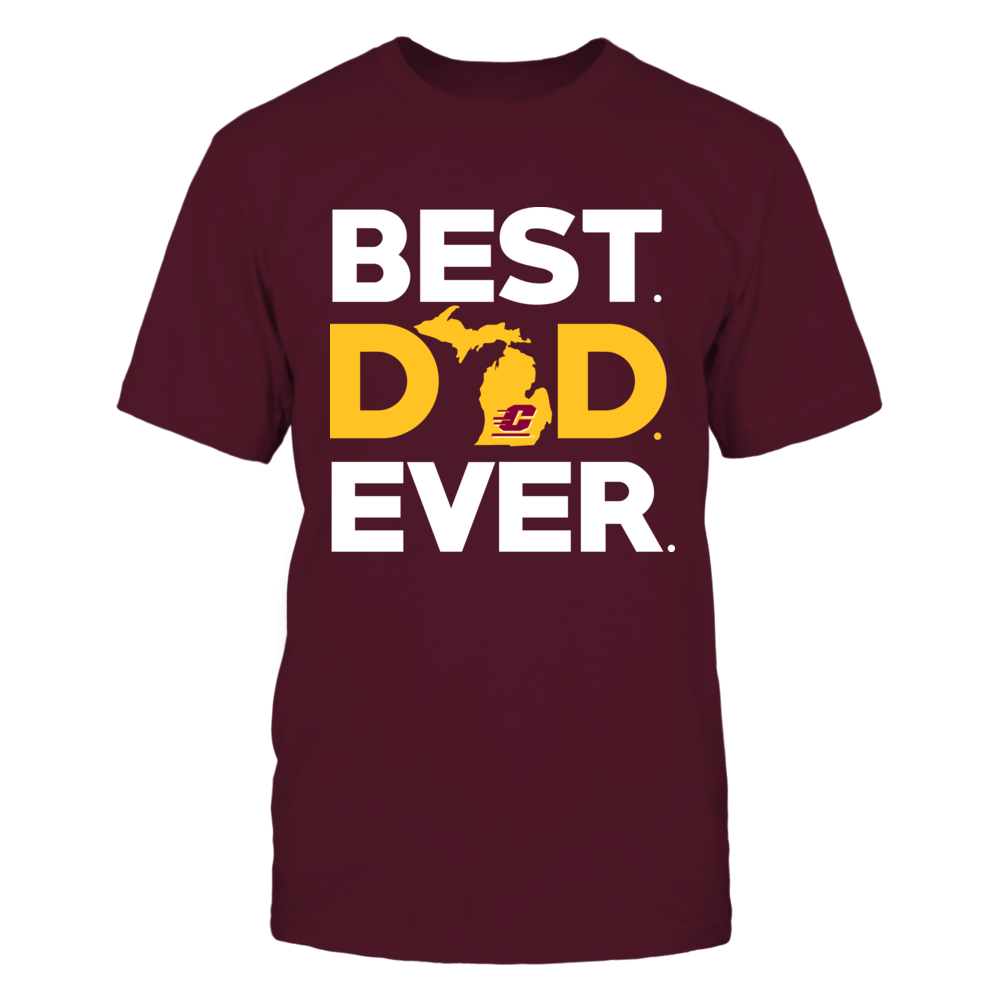Central Michigan Chippewas - Best Dad Ever Front picture
