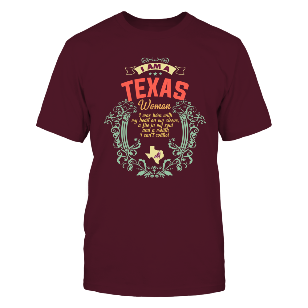 Texas A&M Aggies - My Heart On My Sleeve - Retro State Style Front picture