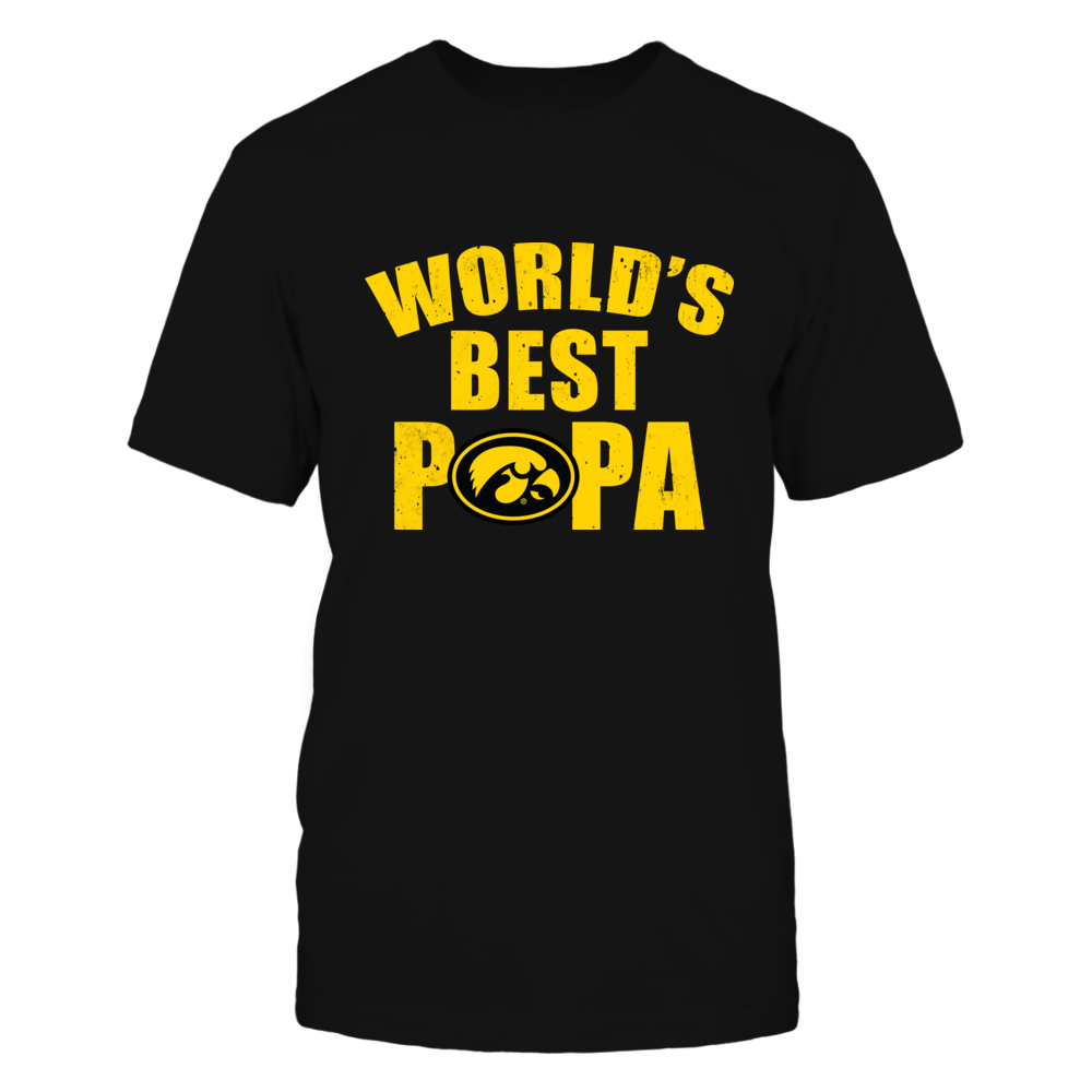 Iowa Hawkeyes - World's Best Papa Front picture