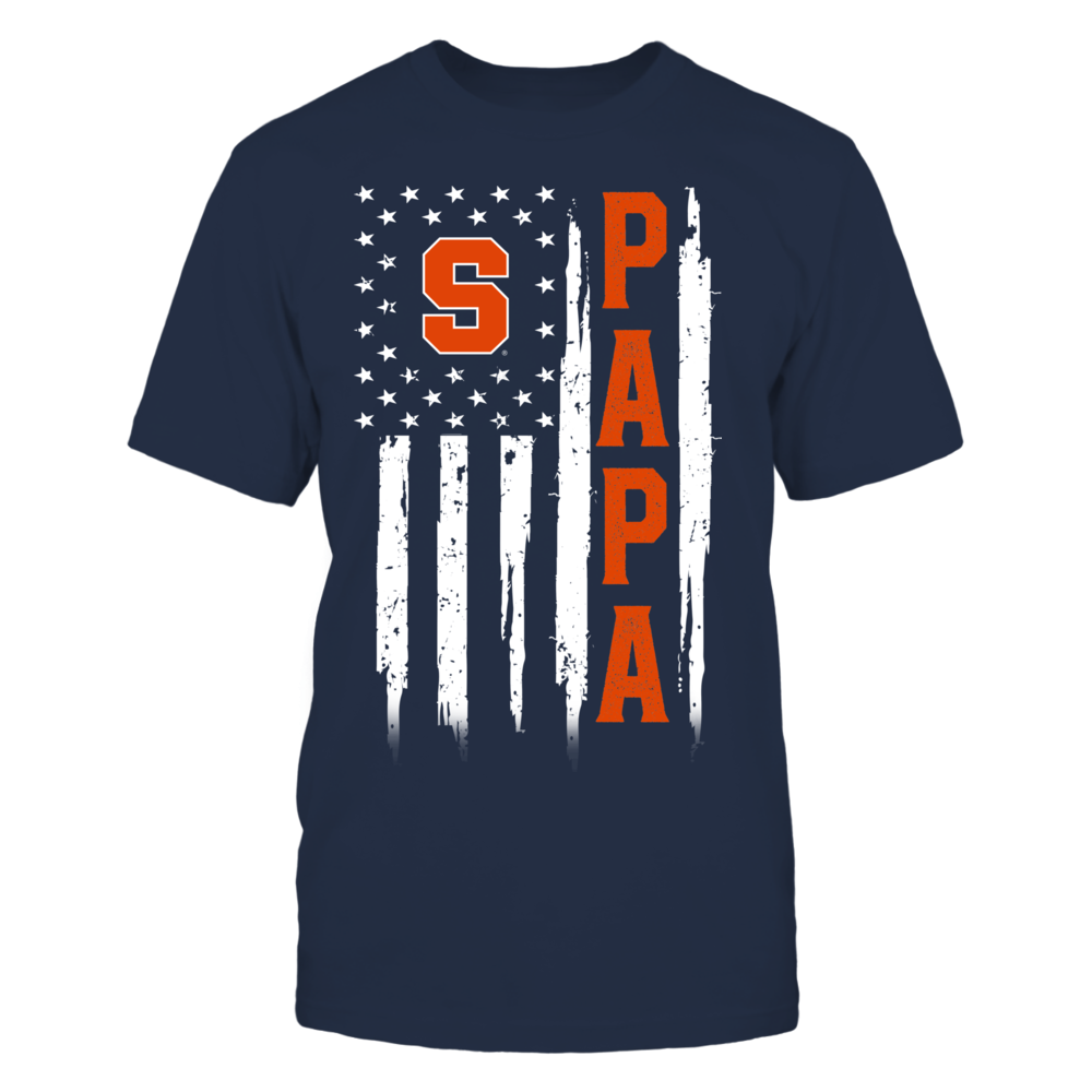 Syracuse Orange - Flag Shirt - Papa Front picture