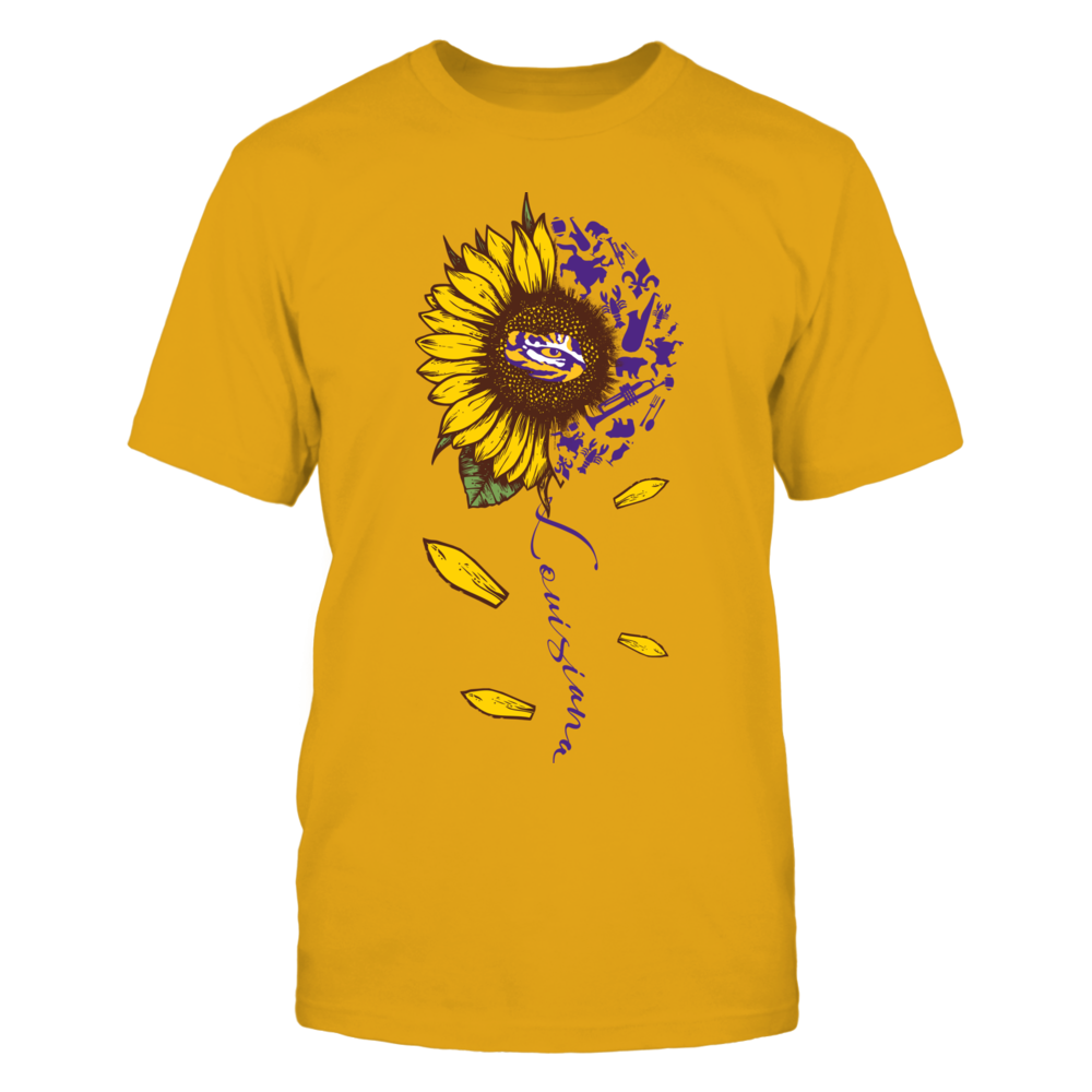 LSU Tigers - Sunflower State Things - Gold Shirt Front picture