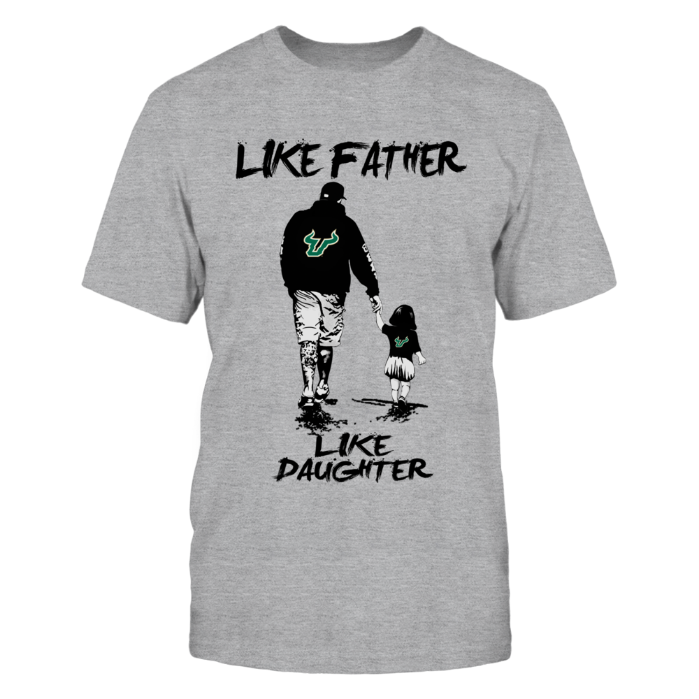 South Florida Bulls - Like Father Like Daughter - Grey Shirt Front picture