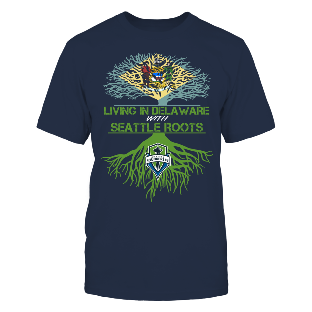 Seattle Sounders - Living Roots Delaware Front picture