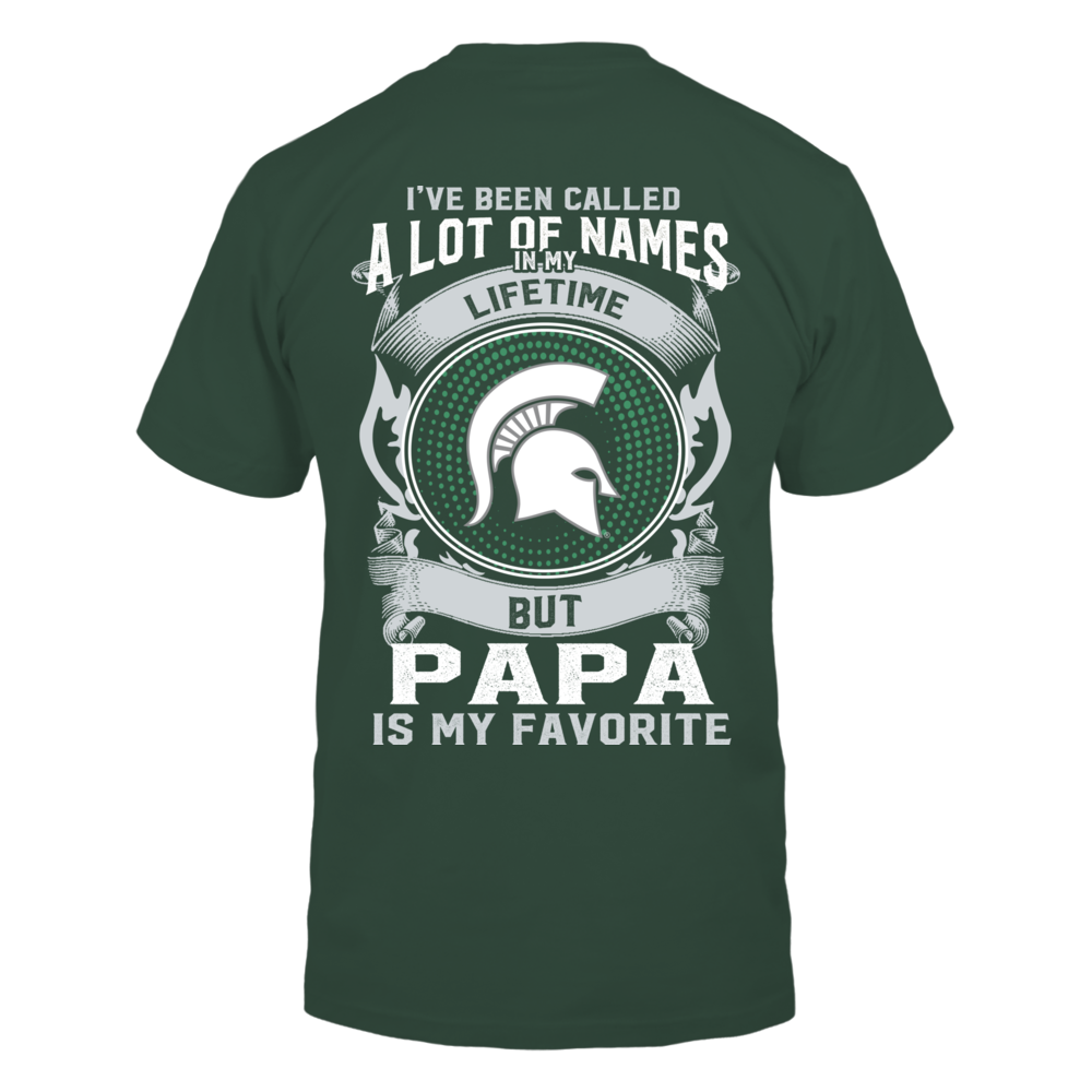 Michigan State Spartans - My Favorite Name - Papa Back picture