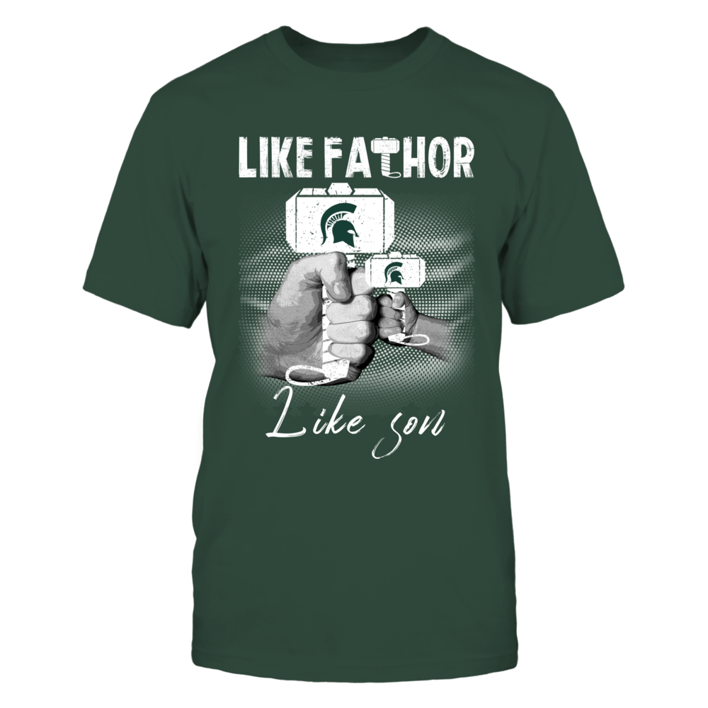 Michigan State Spartans - Like Fathor Like Son Front picture