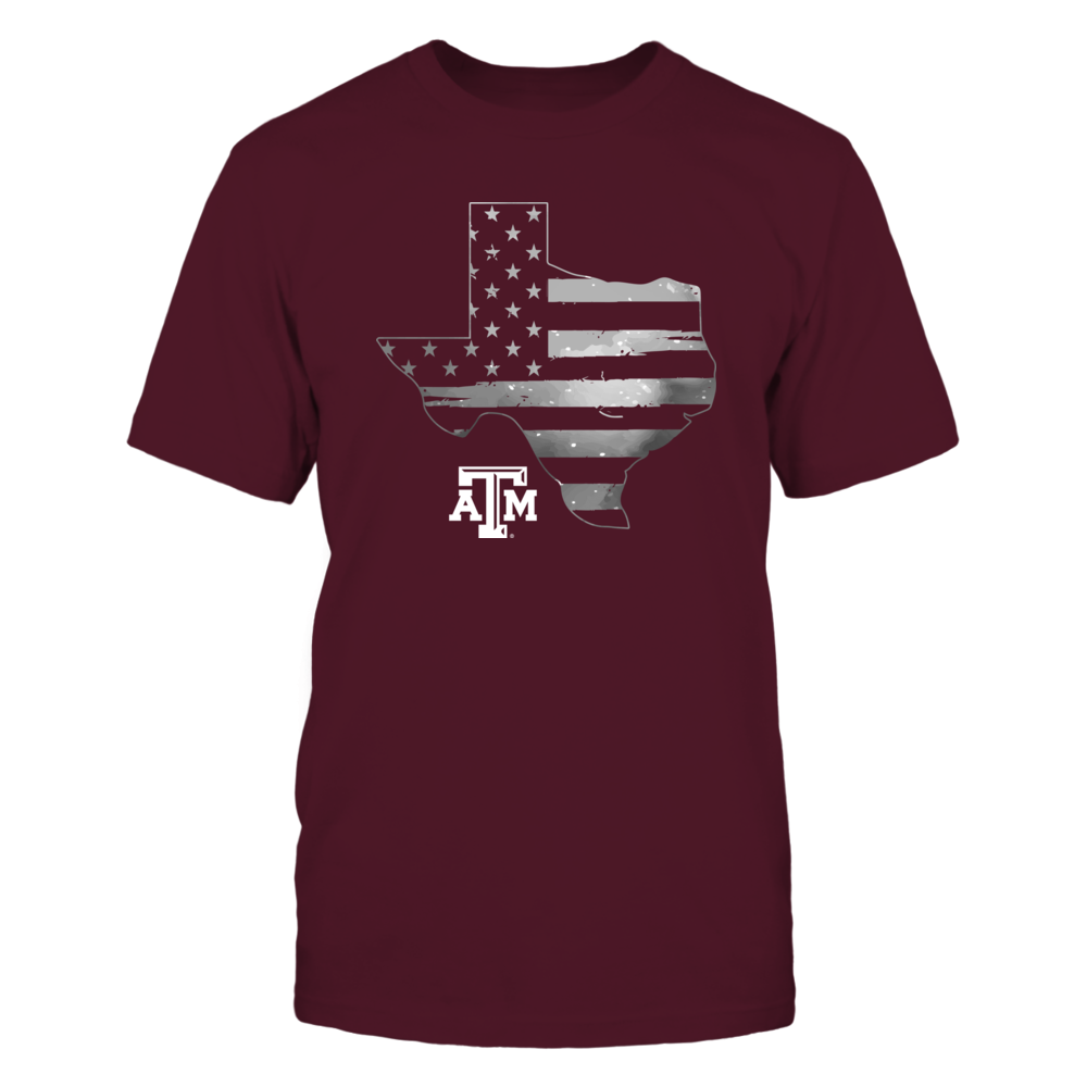 Texas A&M Aggies - Galaxy Flag State Map Front picture